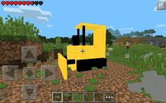 Bulldozer mod!!!!!!!! AMAZING MOD MCPE 0.9.5!!!!!! It looks like somthing for pc!! Comes with bulldozer (not sure if its craft able) and keys item id's: 470 471 its epic u should download now!!!!! Link: http://mcpedl.com/mech-bulldozer-mod/     link also in the comment below ;D