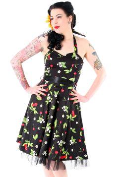 H London Cherry Blossom 50's Dress