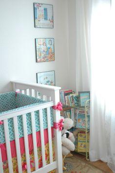 Lilly Pulitzer Inspired Nursery 8