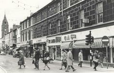 LOOK: Nostalgic pictures shows North Wales shops from decades past - North Wales Live Nostalgic Pictures, Walsall, Cymru, On The High Street, North Wales, Old Pictures, Historical Photos, Picture Show, Nostalgia