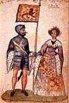 """ISABELLA DE CLARE of Gloucester and Hertford 1226-1264 daughter of Gilbert DeClare and Isabel Marshall. Her husband was Robert de Bruce """"The Competitor"""" 5th Lord of Annandale. They were the G Grandparents of King Robert the Bruce. 22nd G GRANDPARENTS"""