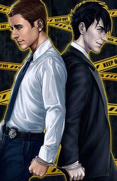 Gotham - Jim Gordon x Oswald Cobblepot - Jimwald Gobblepot