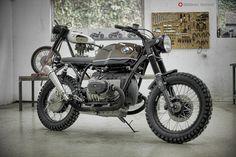 """7Seven's BMW R100 Cafe Racer """"Espresso"""""""
