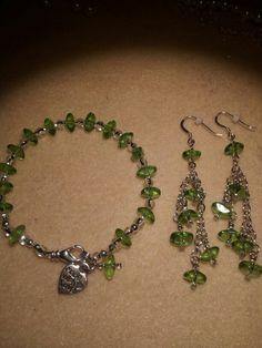 Bracklet & Earrings