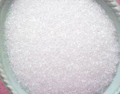 Sugar White Diamond Dust Glass Glitter