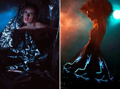 Liquid Geometrics and Light Paintings - Fashioning Technology