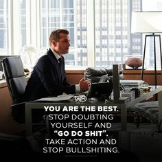 How many of you have their words bigger than their actions? Family Quotes Love, Quotes To Live By, Life Quotes, Motivational Quotes For Success, Positive Quotes, Inspirational Quotes, Serie Suits, Harvey Specter Suits, Suits Quotes