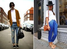 Spotted: Simple White Tee - look de gauche I Love Fashion, Fashion 2017, Fashion News, Fashion Trends, Plain White T Shirt, White Tees, Simple Street Style, Stockholm Street Style, Vogue
