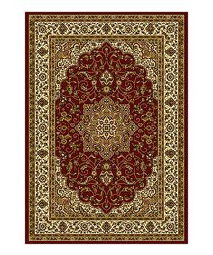 This Red Sarbaz Rug is perfect! #zulilyfinds