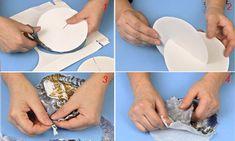 Come realizzare palline decorate di Natale - Bricoportale: Fai da te e bricolage Plastic Cutting Board, Decoupage, Bricolage