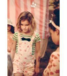 Noé&Zoë Boy's Tee Noe&Zoe Boy's Tee green stripes and bow tie