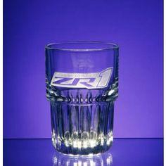 Supercharged ZR1 Corvette Duratuff Stackable Glass