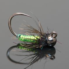 Fly Fish Food -- Fly Tying and Fly Fishing : Little Neon Caddis Nymph