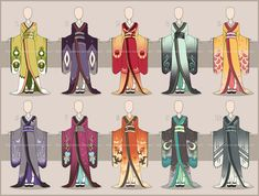 Manga Clothes, Drawing Anime Clothes, Princess Inspired Outfits, Character Inspiration, Character Design, Anime Kimono, Kimono Design, Fashion Design Drawings, Art Reference Poses