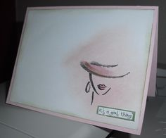 It's a Girl Thing by Amisjag - Cards and Paper Crafts at Splitcoaststampers