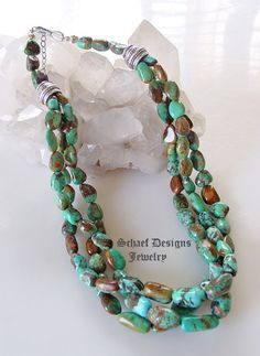David Troutman Turquoise Amber LARGE Cross Pendant on Haleys Comet Turquoise necklace | Upscale online collectible Southwestern & Native American Jewelry gallery | Schaef Designs Turquoise Jewelry | New Mexico