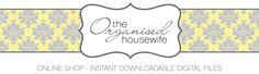 Shop – The Organised Housewife