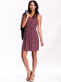 Women's Patterned Sleeveless Dresses