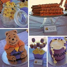 Mia's Pooh Themed Bday is coming up - some nice ideas here