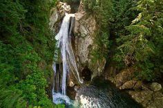 Twin Falls in North Bend, Washington