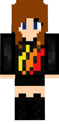Check out my minecraft skin! Love it if your part of the Fire Nation! #TBNRfrags #PrestonPlayz #FireNation