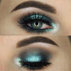Makeup Geek Eyeshadows in Baby Face, Bedrock, Houdini, and Time Travel. Look by: @ georgiarosex (Instagram)