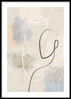 Art And Illustration, Poster 70x100, Photo Pop Art, Art Abstrait Ligne, Minimal Art, Minimal Design, Arte Linear, Kunst Poster, Beige Art
