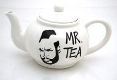 a tomar el té....