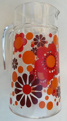 Very pretty glass vintage water jug from the by Retrofanattic, £6.70