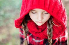 little red riding hood themed shoot
