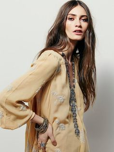 FP Collection Embroidered Austin Dress at Free People Clothing Boutique