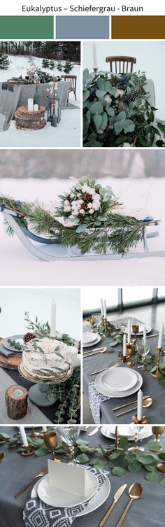 Stylish color concepts for a wedding in autumn or winter : We miss you! Source by lenabremb The post Stylish color concepts for a wedding in autumn or winter appeared first on wedding. Wedding Decorations, Table Decorations, Woodland Party, Holiday Cocktails, Elegant, Fall Wedding, Concept, Autumn, Inspiration