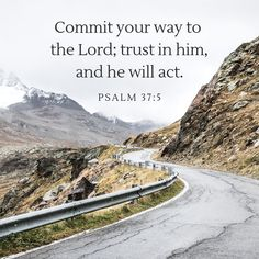 """Routine Bible on Instagram: """"Commit your way to the Lord; trust in Him, and he will act. - Psalm 37:5 - - - - - - - - - - - #routinebible 📖 Follow @routine.bible 👈 1️⃣…"""" Psalm 37, Great Names, Jesus Calling, Lettering Design, Savior, Acting, Trust, Religion, Blessed"""