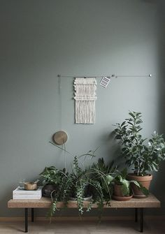 5 Aligned Tricks: Natural Home Decor Ideas Grey Walls natural home decor boho chic style inspiration.Natural Home Decor Bedroom Living Rooms all natural home decor simple.Natural Home Decor Living Room Woods. Grey Flooring, Living Room Green, Interior, Green Rooms, Wall Colors, Bedroom Green, Home Decor, Room Inspiration, Living Room Grey