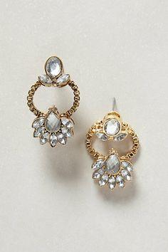 Jasminum Earrings #anthropologie