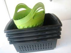 freezer baskets - tips for organizing the freezer