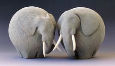 Fred Yokel Home Deco Buddi Buddies Ceramic ceramic pottery Elefantenfreunde Elephant Fred Keramik Unterglasur Yokel Elephant Sculpture, Art Sculpture, Pottery Sculpture, Animal Sculptures, Ceramic Sculptures, Abstract Sculpture, Bronze Sculpture, Pottery Animals, Ceramic Animals