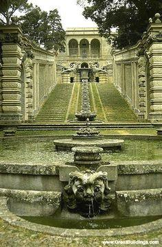 Villa Farnese - Caprarola, near Viterbo, Lazio - Great Buildings Image