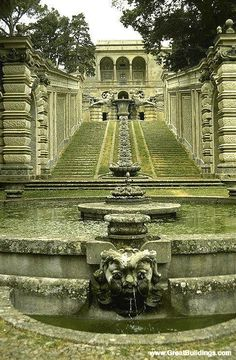Villa Farnese - Caprarola, near Viterbo, Lazio - Great Buildings Image