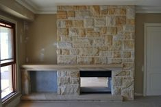 sandstone fireplaces - Google Search