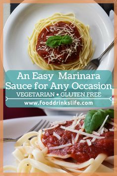 An Easy Marinara Sauce for Any Occasion • No more jars for you!