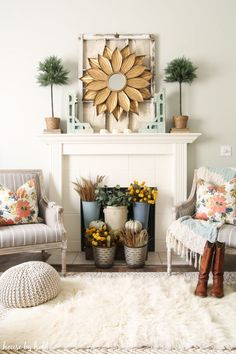 Neutral Fall Mantle via House by Hoff