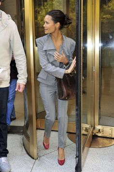 Thandie Newton Photo - Thandie Newton Spotted Leaving the CW Studios in New York