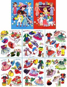 paper doll nursery ryhme - Google Search