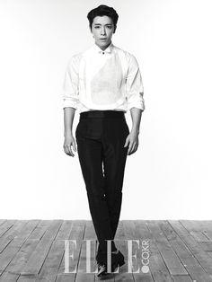 Super Junior's Lee Dong Hae For Elle Korea Magazine July 2014