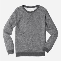Everlane - The Crew Sweatshirt - Grey Marled
