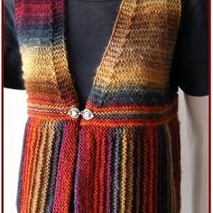 Easy Knitted Vest Pattern Free | Las' Vests Knitting Patterns – Planet Purl