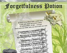 MUGWORT PSYCHIC CHARM bag Digital Download by MorganaMagickSpell