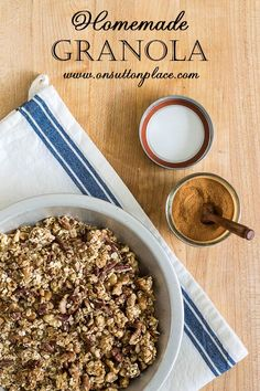 ... Granola on Pinterest | Granola, Granola Bars and Chewy Granola Bars