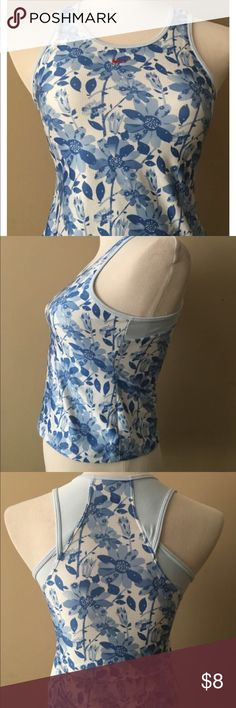 Womens Nike Fit Dry Top Size XL Floral Print Womens Nike Fit Dry Top Size XL Floral Print Nike Other